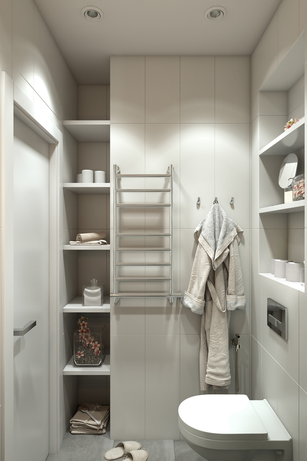Perfect  Bathroom Storage Cabinet Ideas Bathroom Luxury Bathroom Shelves And