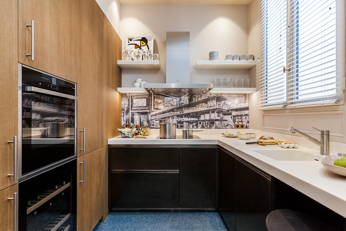 Parisian kitchen design