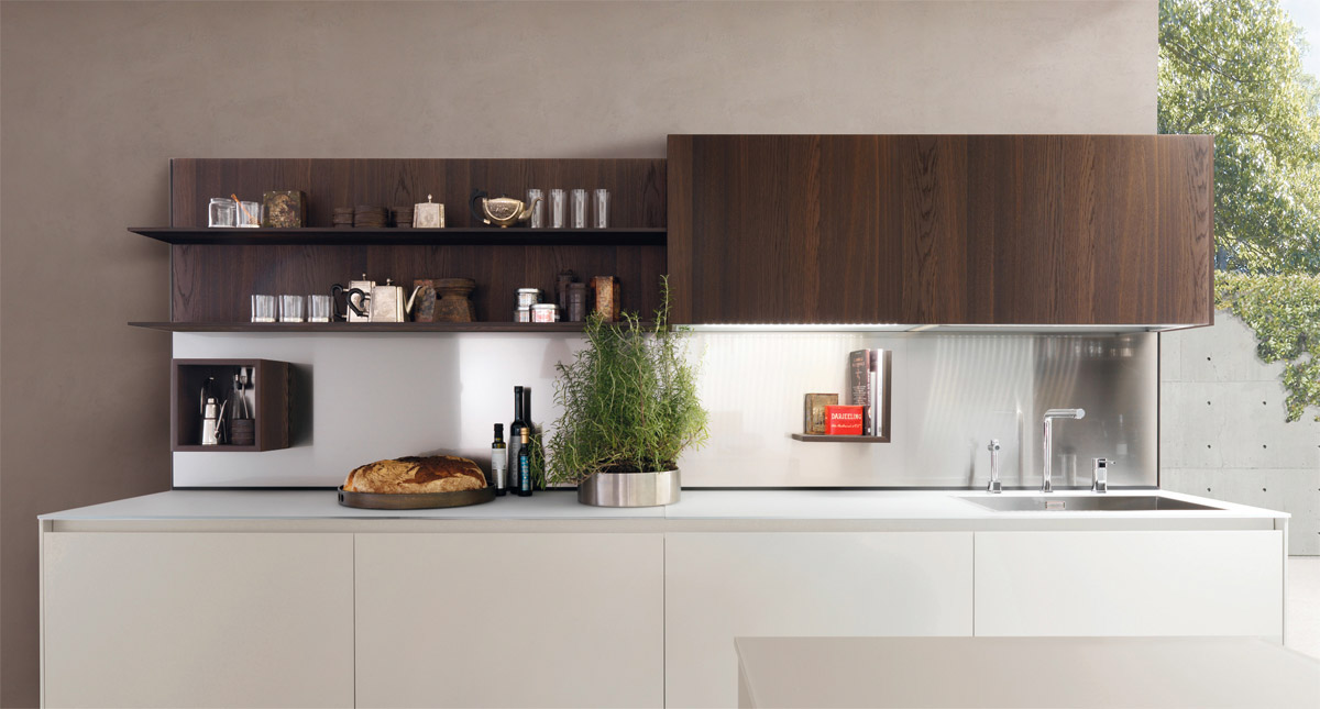 20 Awesome White and Wood Kitchen Design Ideas - RooHome ...