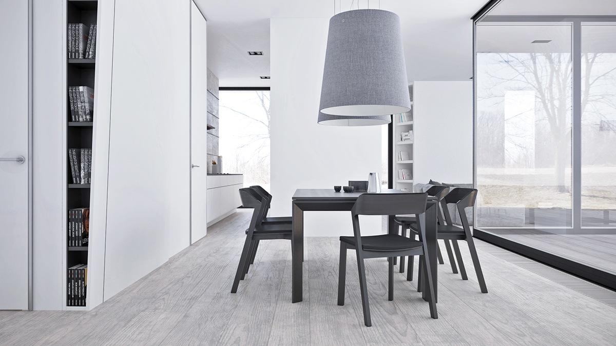 White interior design style
