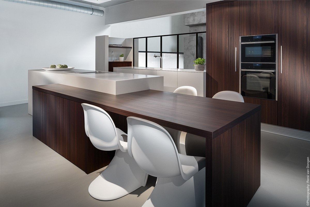 20 awesome white and wood kitchen design ideas roohome for White and wood kitchen