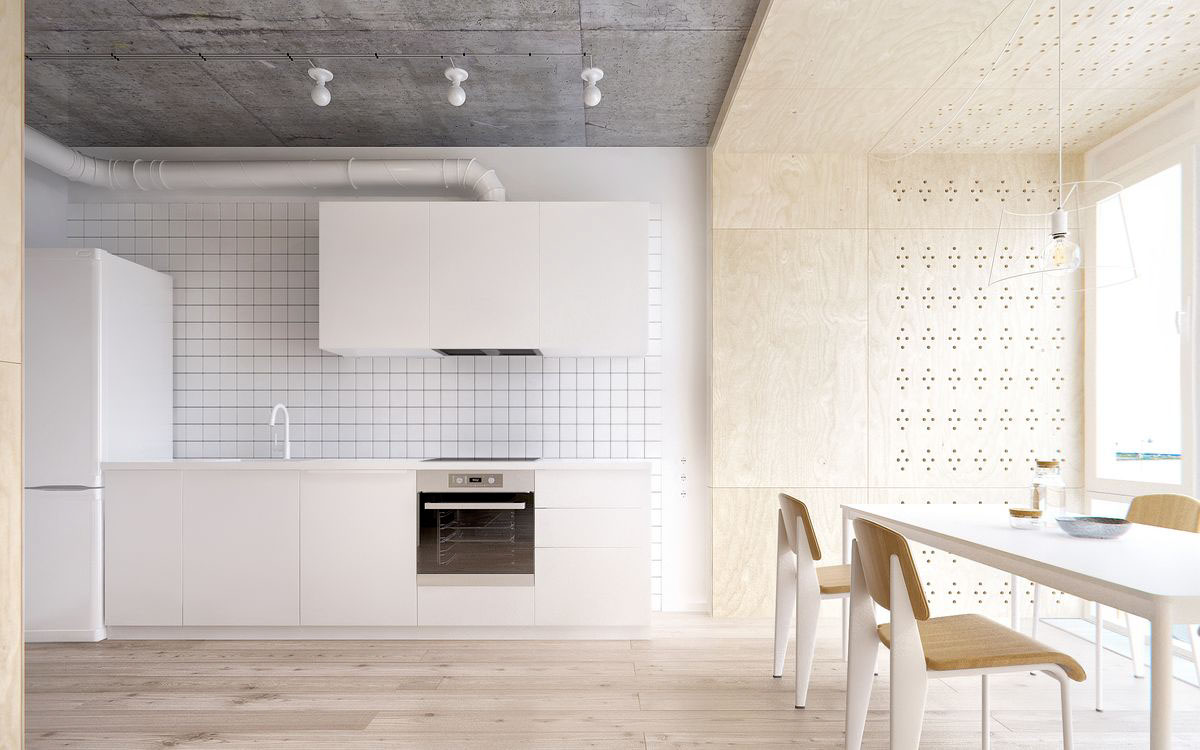Modern White Kitchen Design 20 Awesome White And Wood Kitchen Design Ideas Roohome Designs