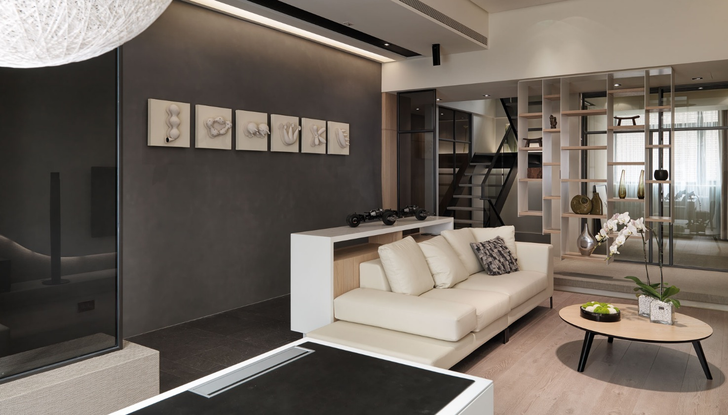 Contemporary Loft Style Apartment Design Makes You Feel