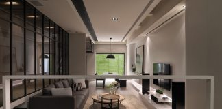 Contemporary loft style apartment