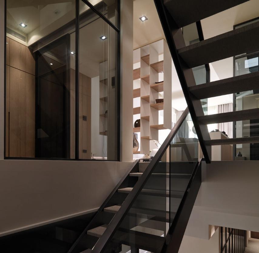 Black modern loft style