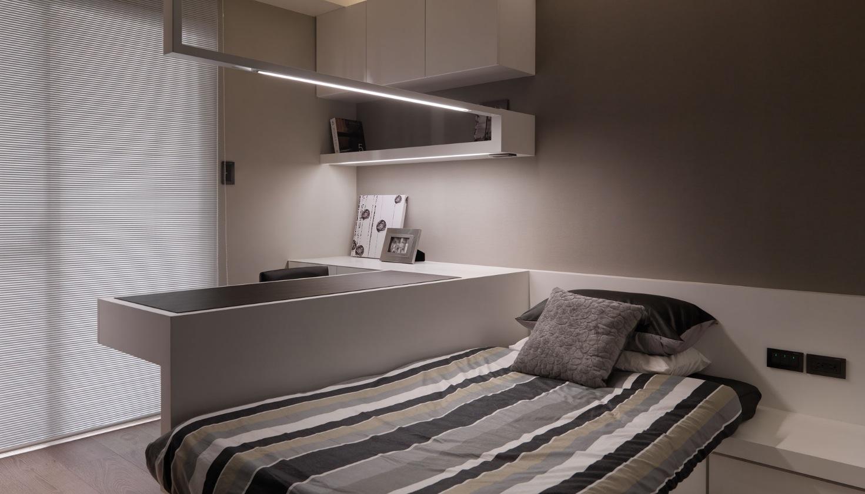 Loft bedroom design style