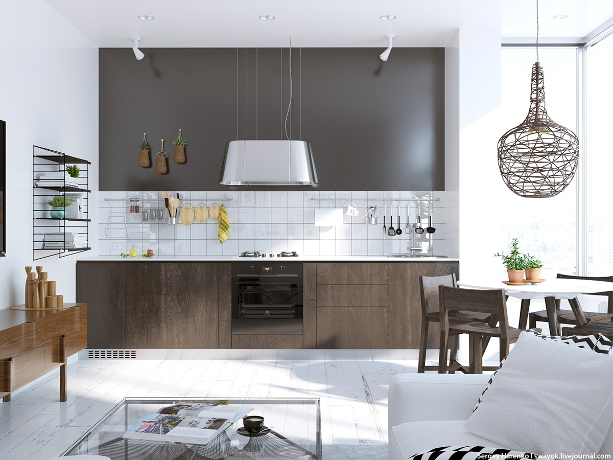 Scandinavian kitchen design style