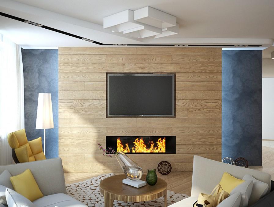 Posh scandinavian apartment interior design by da for Interior design for living room in flat