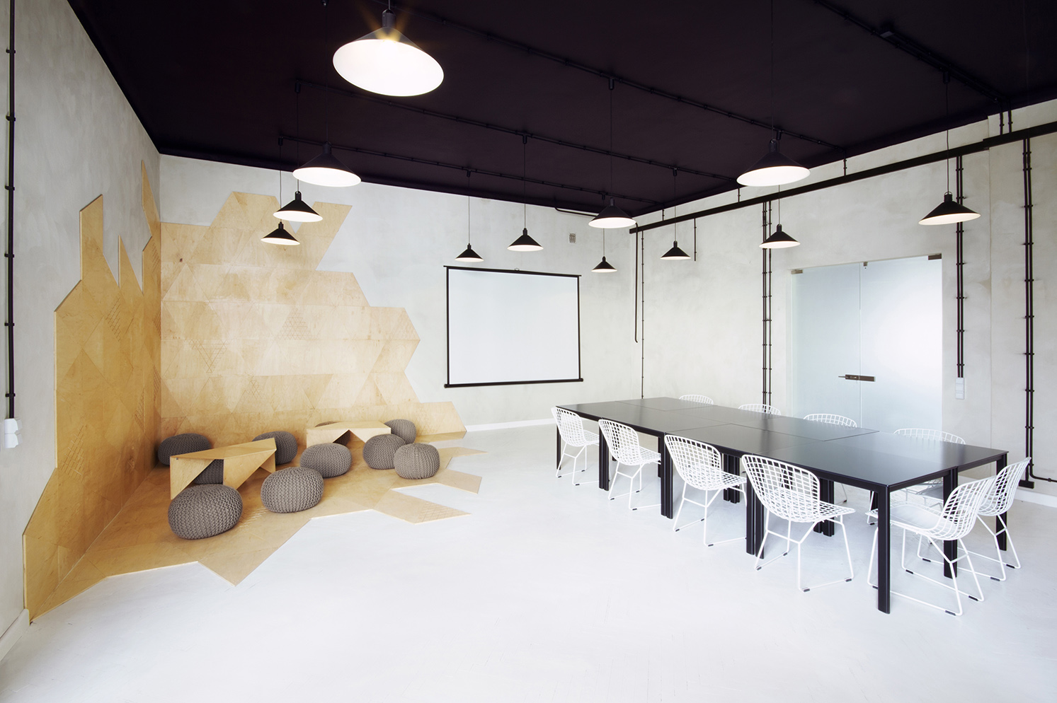 4 informal meeting room unique open plan living and dining room design ideas roohome on meeting - Conference Room Design Ideas