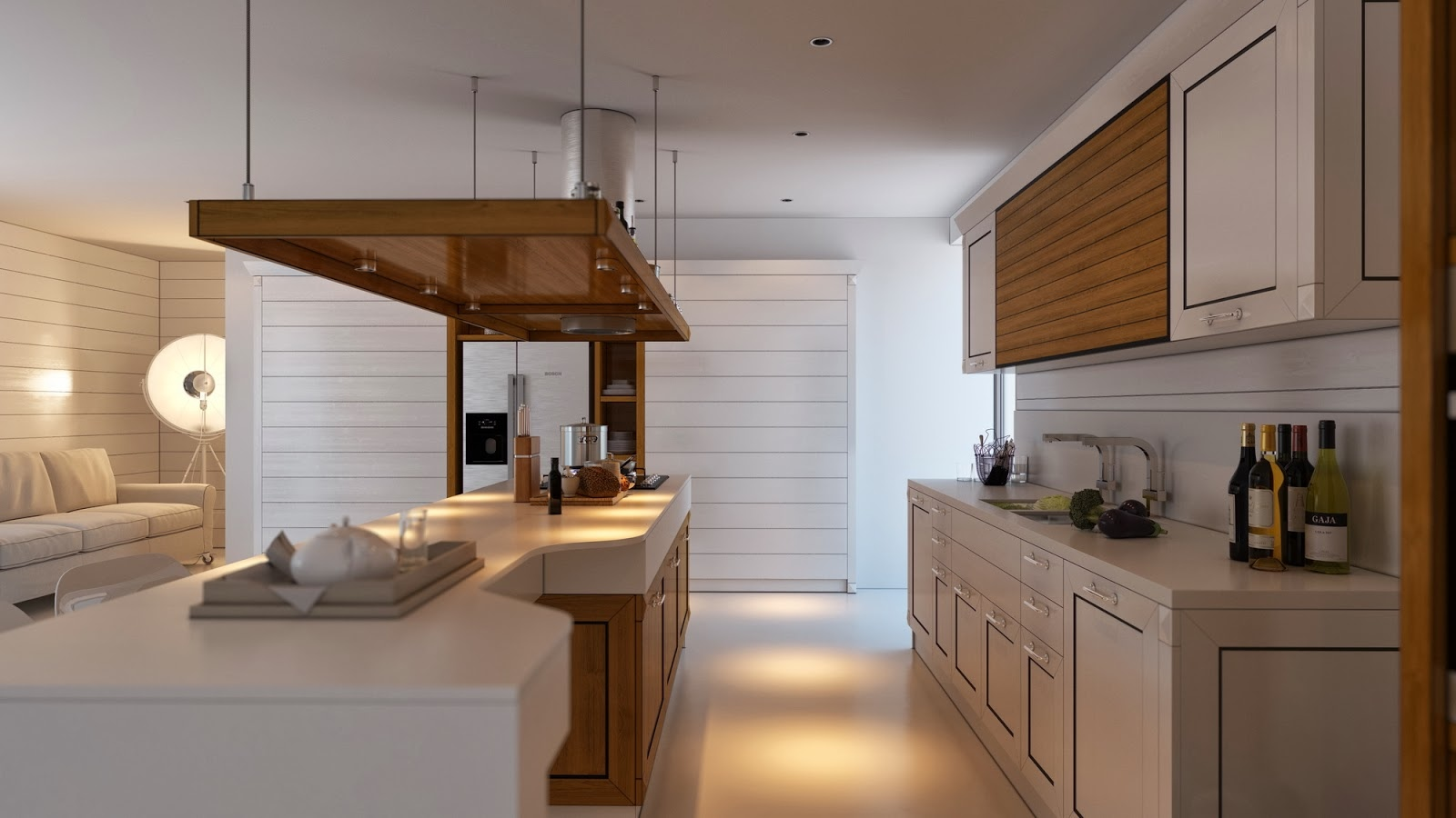 Bon Minimalist Kitchen Design That Will Stunning You By Artem Evstigneev  Beautiful Kitchen Island Hood Can Change The Decor In Your .