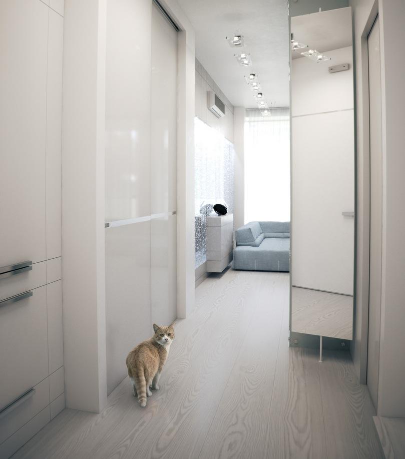White hallway ideas