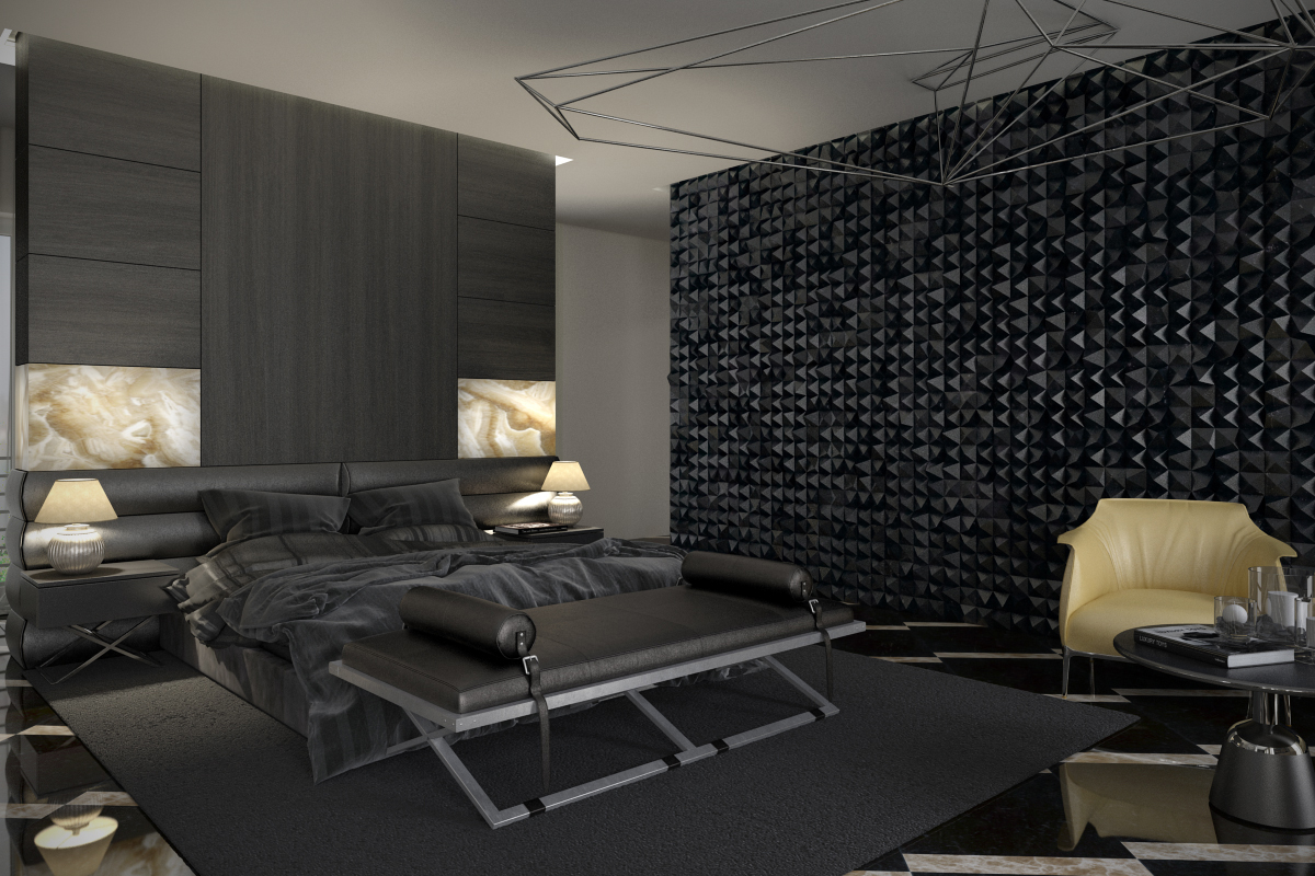 7 teenage bedroom design ideas which is cool and unique - Cool bedroom wall ideas ...