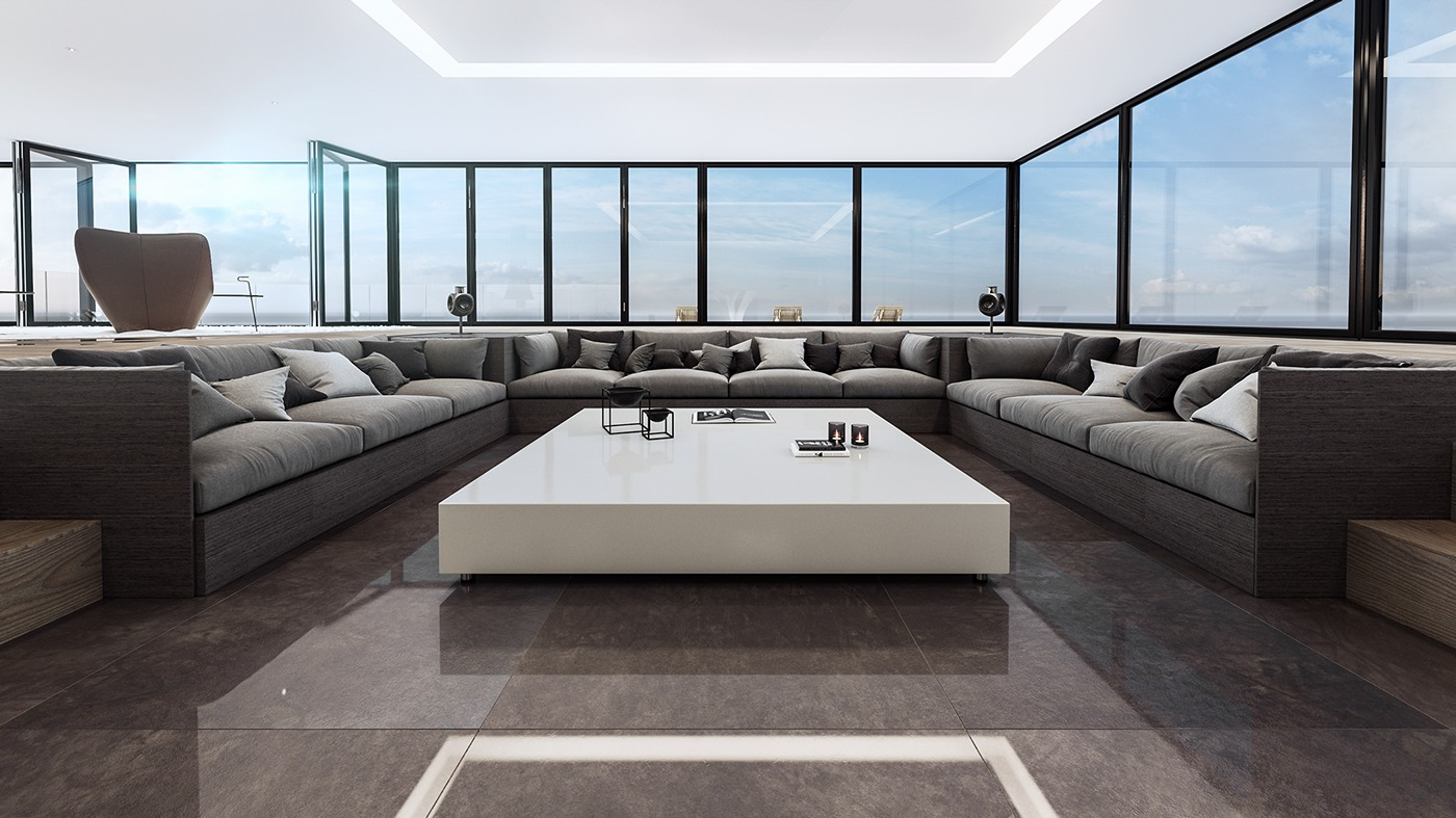 Luxury living room design and decorating ideas