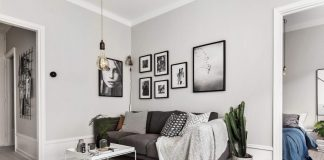 Attractive Scandinavian apartment interior design style