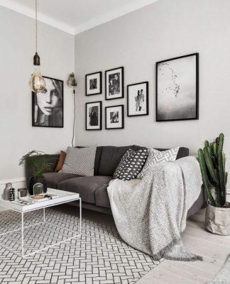 Attractive Scandinavian apartment interior design style