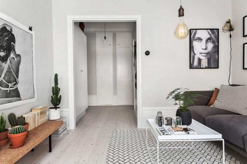 Scandinavian apartment interior design ideas