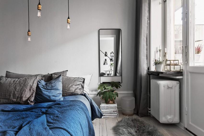 Scandinavian bedroom interior design style