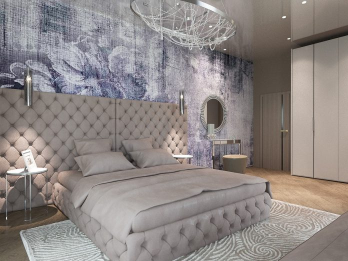 Modern bedroom design ideas with luxury decoration