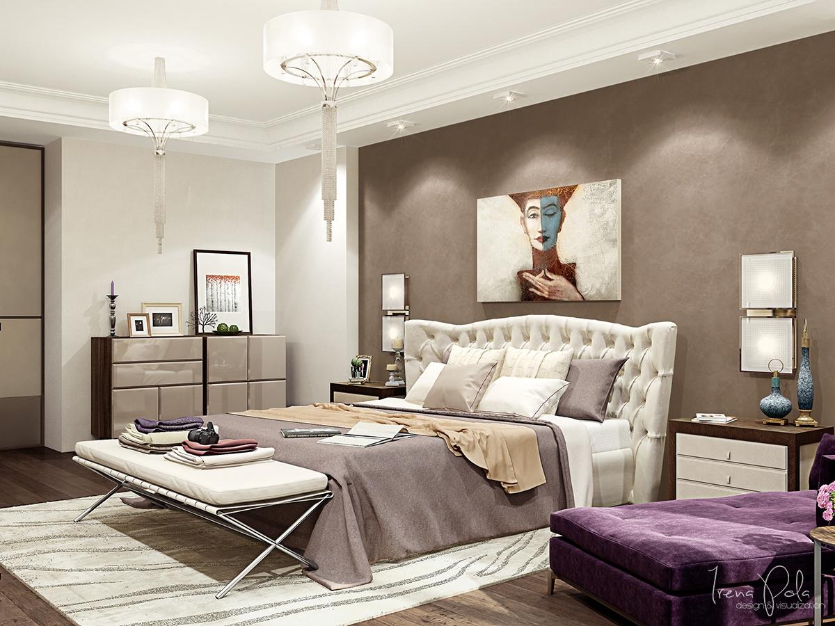 10 modern bedroom design ideas with luxury decorating for Eke interior design