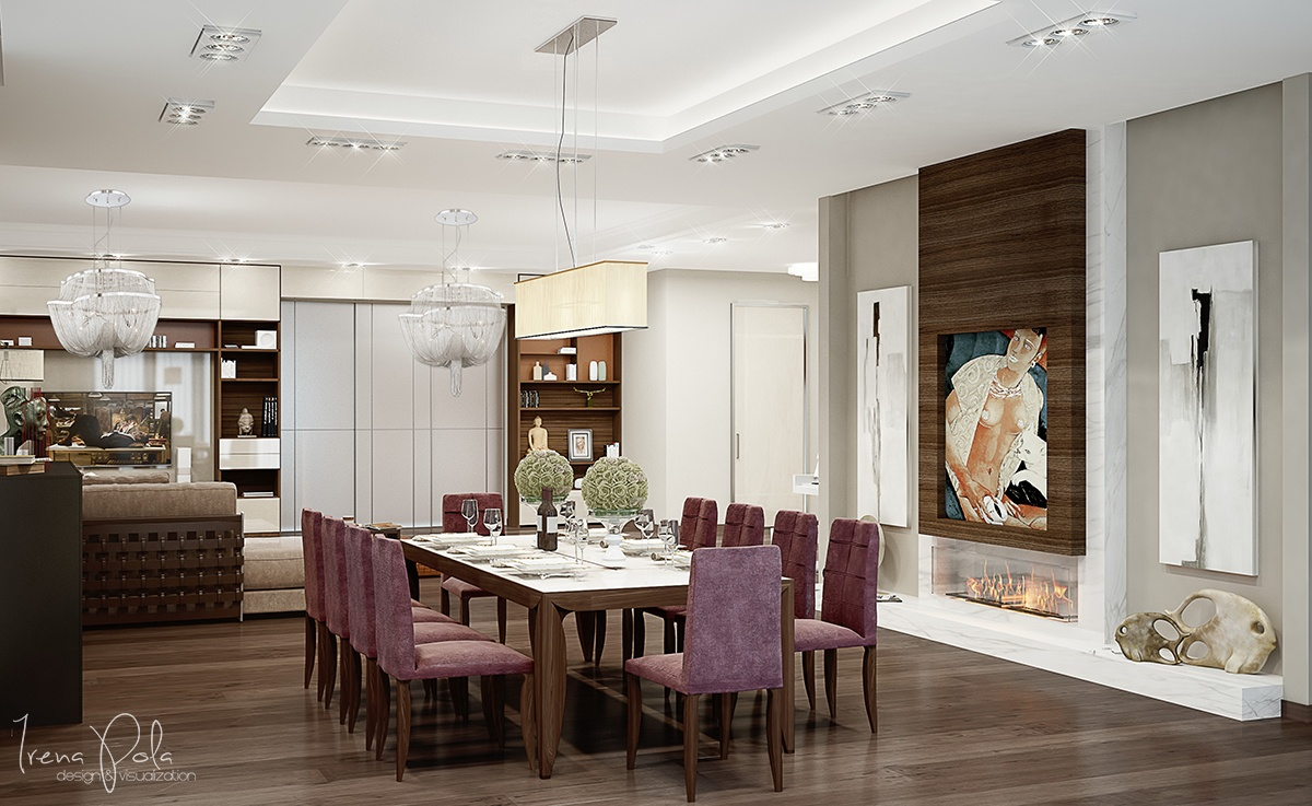 modern classic dining room design ideas