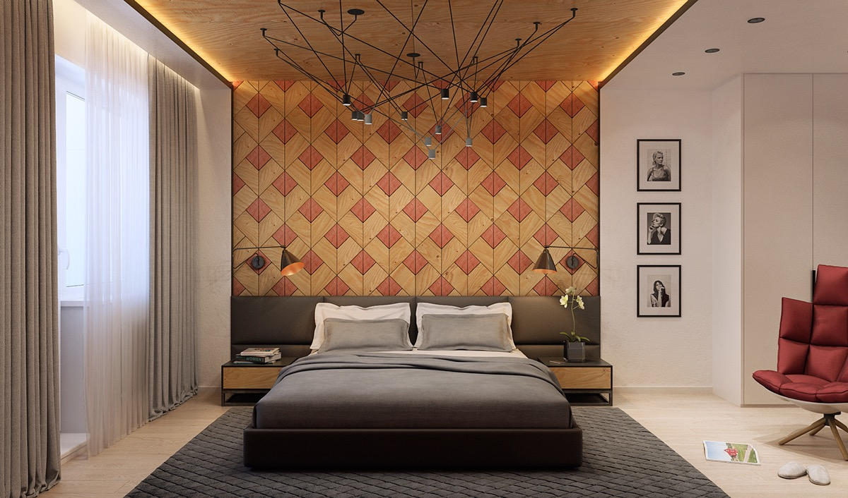 15 awesome wall texture for your bedroom decorating ideas for Different bedroom decorating ideas