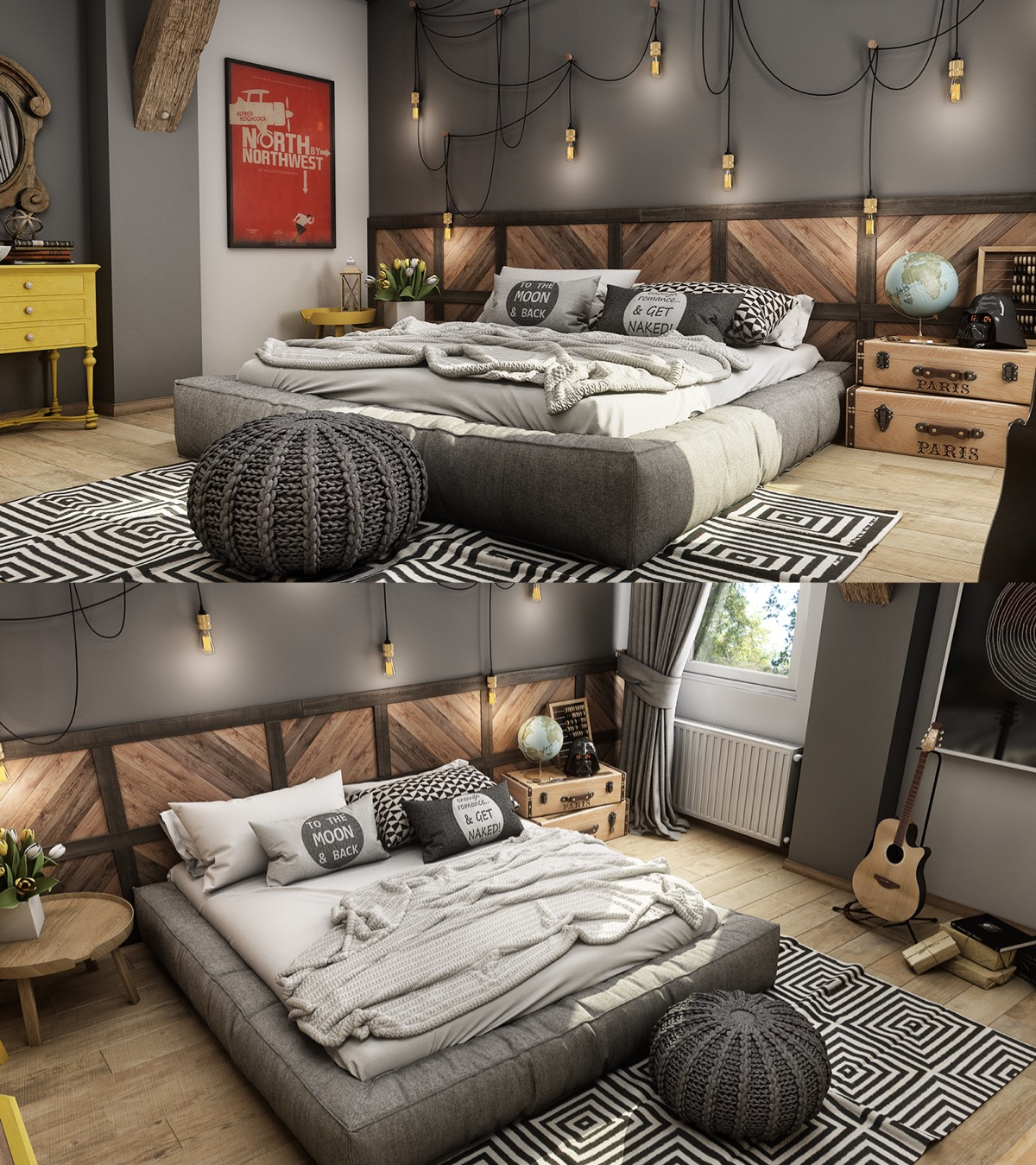 17 Cool Teen Room Ideas: 7 Teenage Bedroom Design Ideas Which Is Cool And Unique