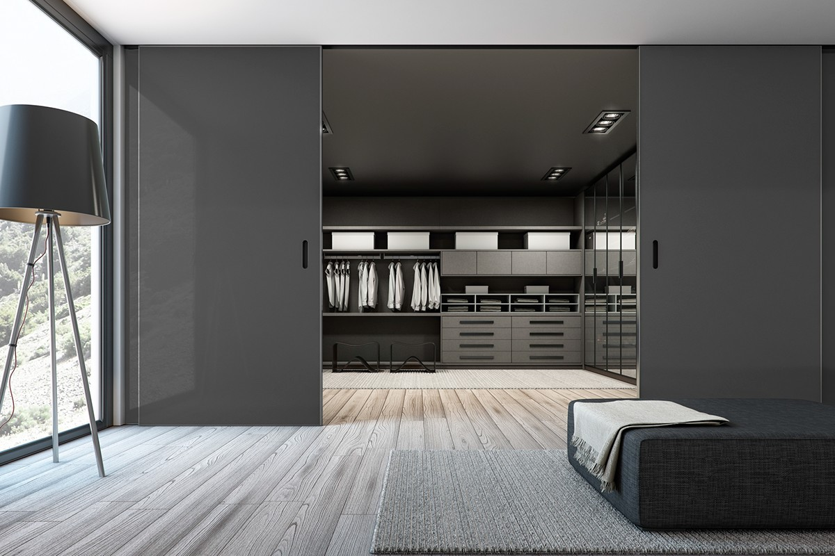 Luxury wardrobe design