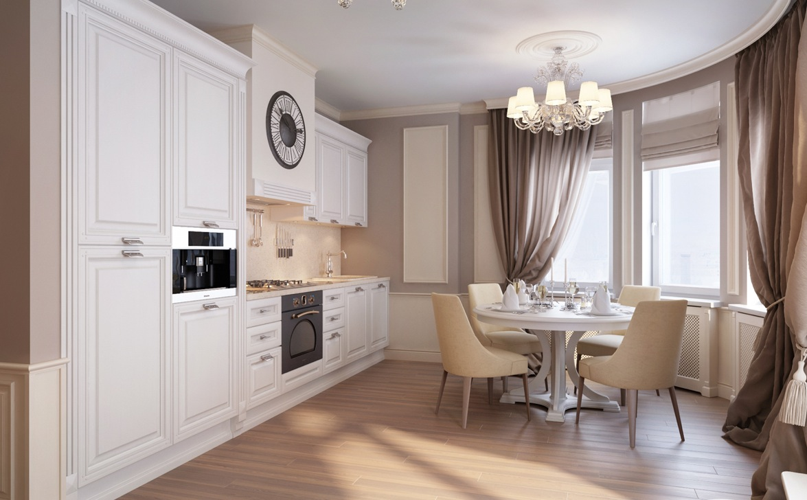 Modern classic appartment interior design ideas