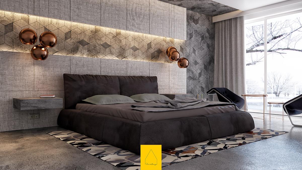 Luxury bedroom theme
