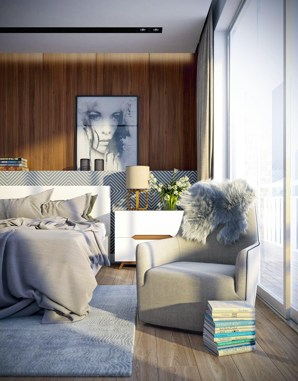 Modern bedroom theme ideas
