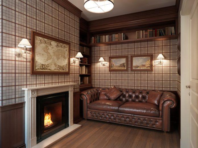 Modern classic apartment interior design