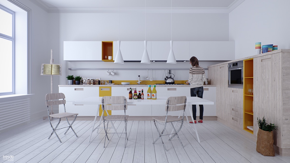 white dining room ideas
