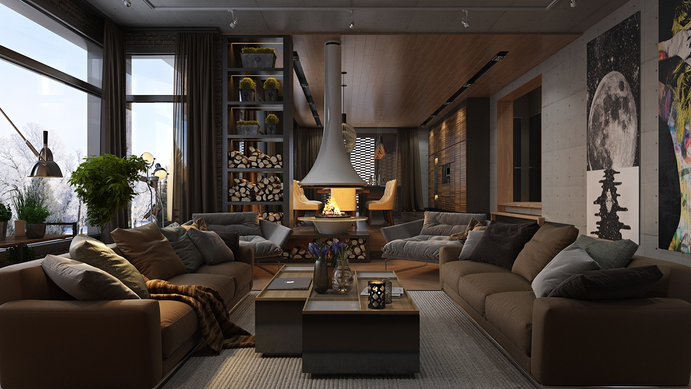 Luxury living room and decorating ideas
