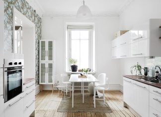 White dining room design ideas