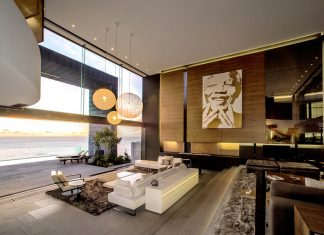Luxurious living room design and decorating ideas