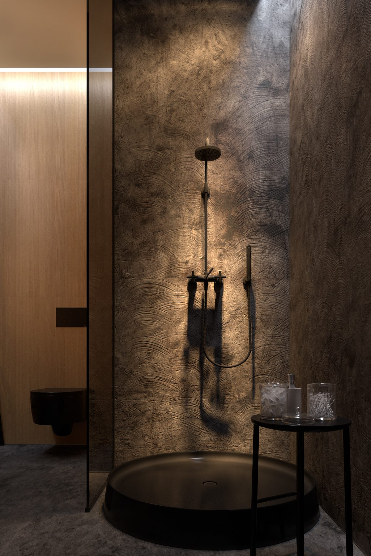 Unique shower design