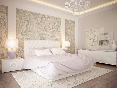 Apartment design by using pastel colour