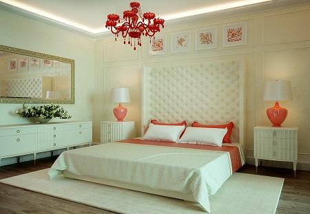 Apartment design with pastel colour