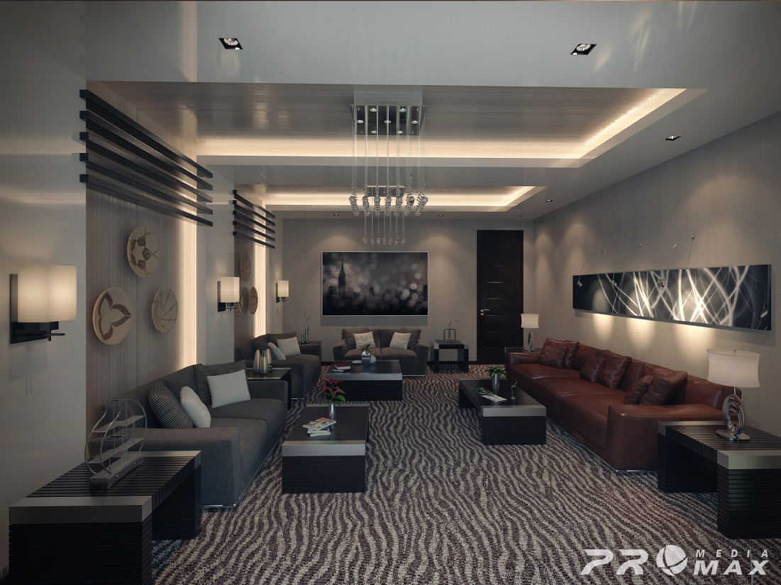 2 Contemporary Apartment Design Ideas By Mahmoud Keshta Roohome
