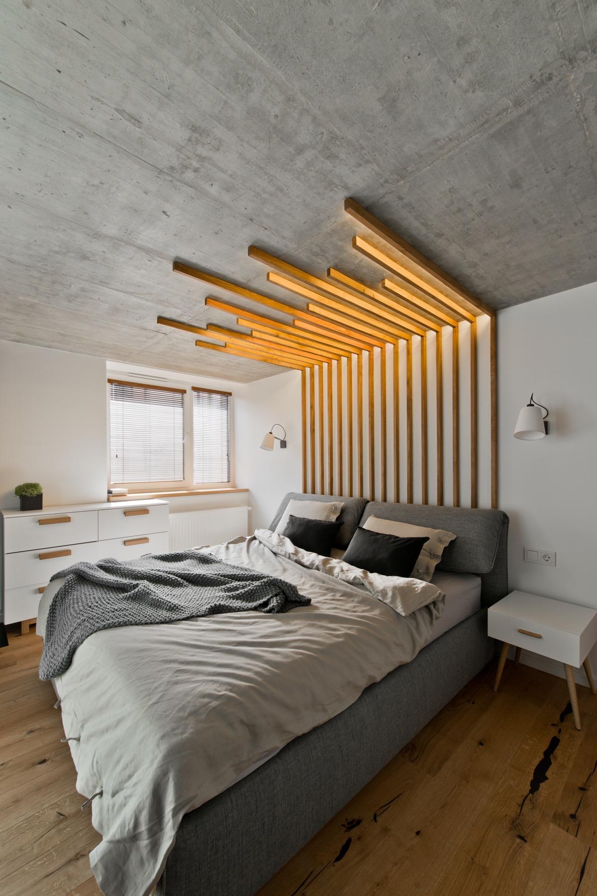 Scandinavian bedroom design