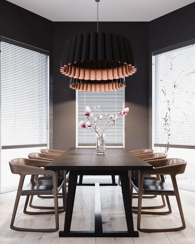 Modern stylish apartment interior design