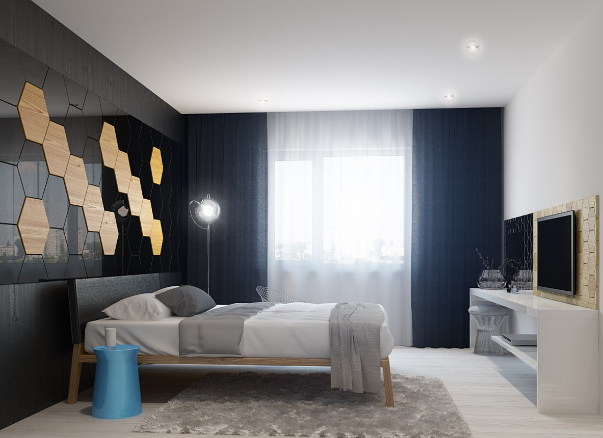 Modern bedroom design style