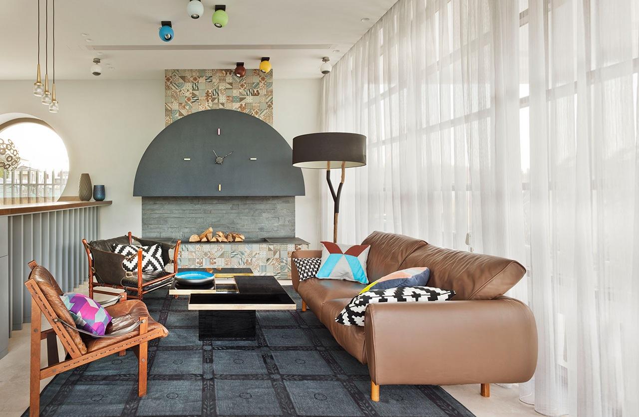 Colorful house design ideas