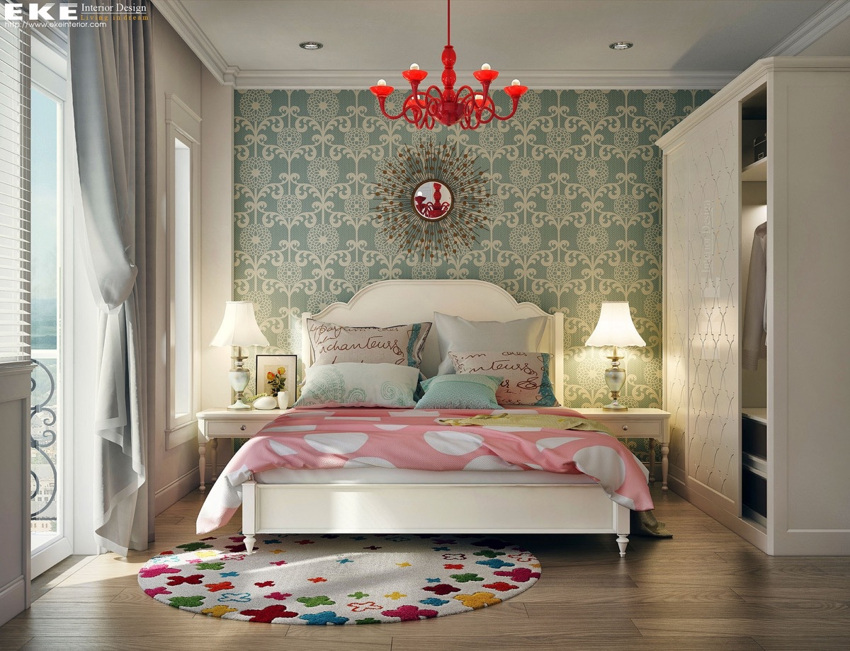 10 vintage bedroom design style with fancy furniture and - Bright house bedroom furniture ...