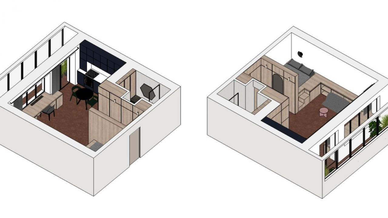 Small Apartment Design Under 600 Square Feet Roohome