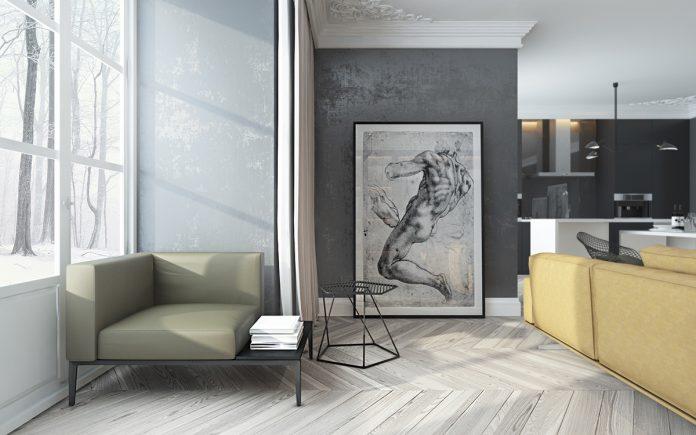 Artistic living room design ideas