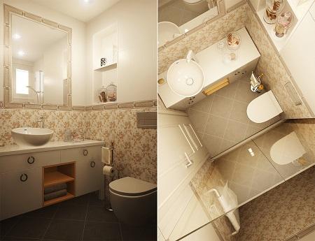 Classic design for apartment