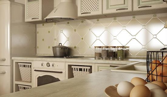 Classic interior for kitchen