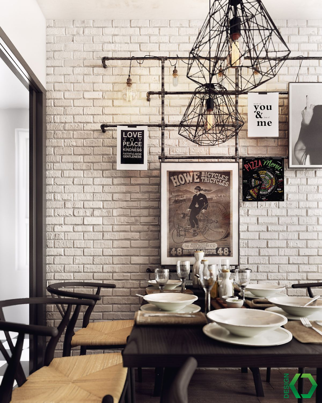 Nordic dining room design