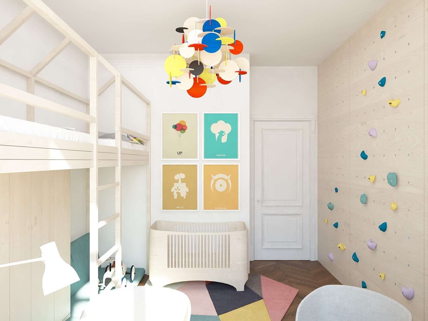 Colorful kids bedroom decor ideas
